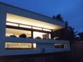 Fassade am Abend